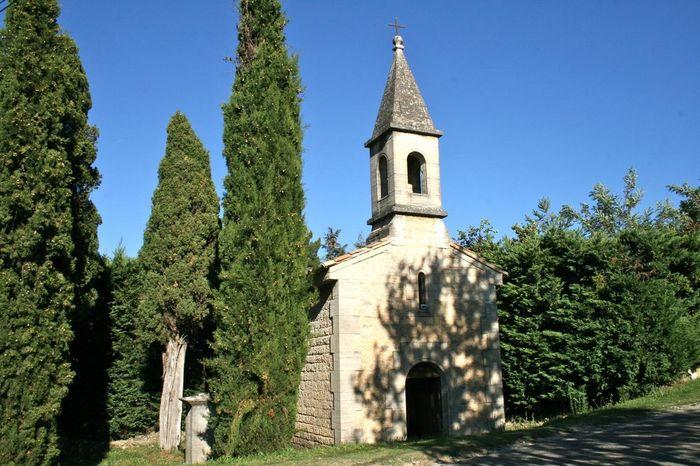 Journées du patrimoine 2020 - Visite de la chapelle de Beccaras-XVIIIe