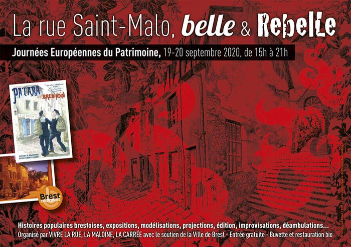 Journées du patrimoine 2020 - A la découverte du patrimoine commun urbain vivant de la rue St Malo à Recouvrance