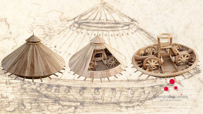 Exposition : Les drôles de machines de Léonard de Vinci