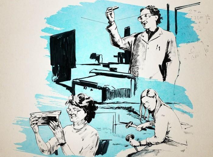 """Projection du documentaire américain """"Picture a scientist"""" suivie suivie d'une table-ronde sur la place et le parcours des femmes dans la Recherche en France."""