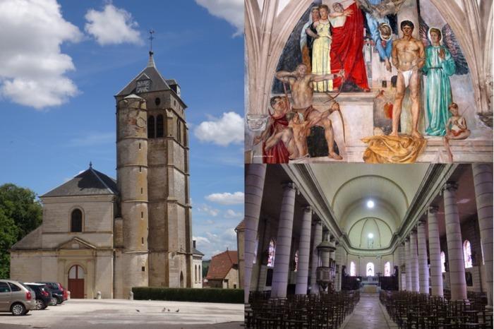 Journées du patrimoine 2020 - Découverte de la chapelle Saint-Christophe et de la fresque Giess de l'église de Champlitte