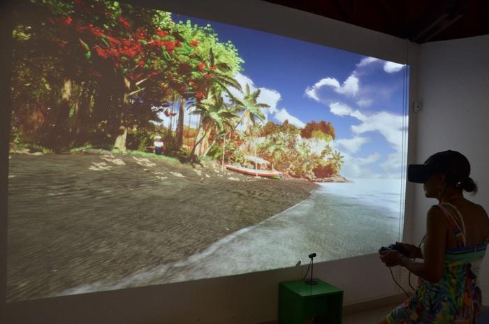 Journées du patrimoine 2019 - Le Carbet / Centre d'interprétation Paul Gauguin / Balade en réalité virtuelle dans les œuvres de Gauguin / multimédia