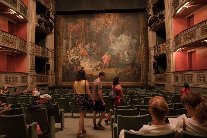 Journées du patrimoine 2020 - Théâtre Charles Dullin et rideau de scène