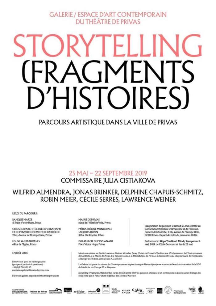 Journées du patrimoine 2019 - Parcours d'art contemporain dans le centre-ville de Privas
