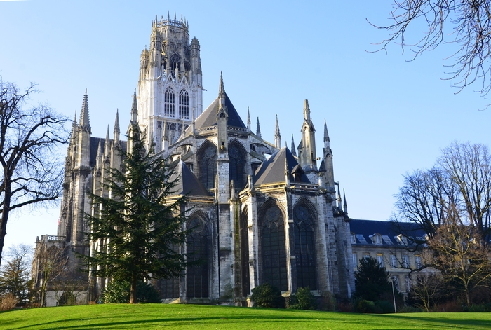 Journées du patrimoine 2020 - Visite libre de l'abbatiale Saint-Ouen