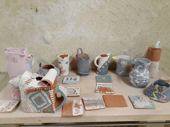 Journées du patrimoine 2020 - Stage poterie «Ma jolie boîte et son couvercle»