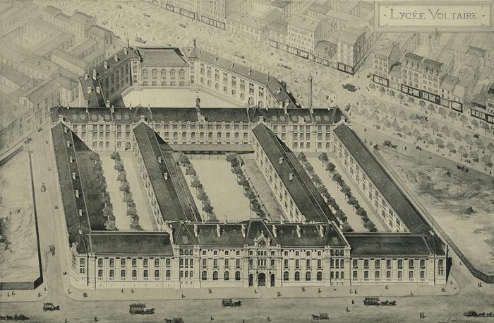 Journées du patrimoine 2019 - Visite guidée du lycée Voltaire