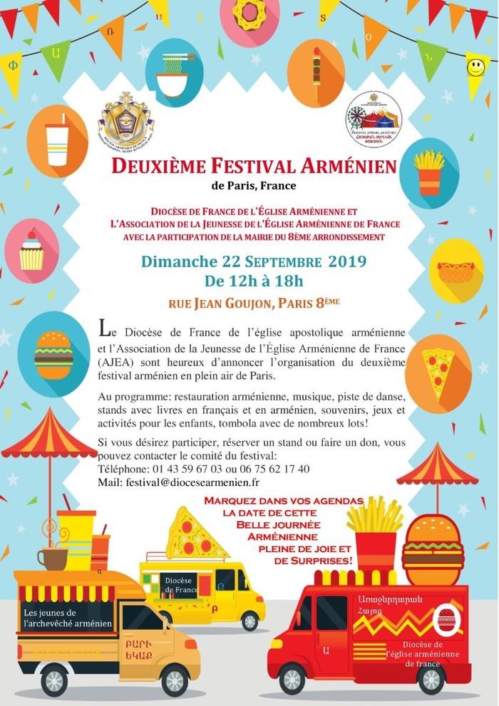 Journées du patrimoine 2019 - 2e festival arménien de Paris