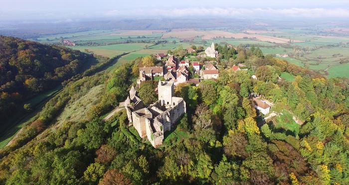Journées du patrimoine 2019 - Visite du château de Brancion