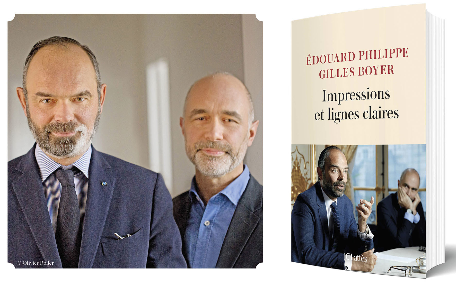 Les éditions JC Lattès organisent une séance de dédicace d'Edouard Philippe et Gilles Boyer.