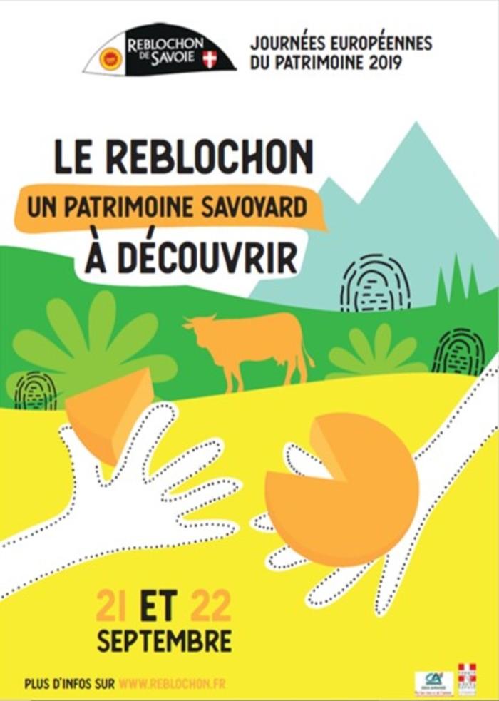 Journées du patrimoine 2019 - A la découverte du Reblochon et de la Fruitière des Bornes à Arbusigny