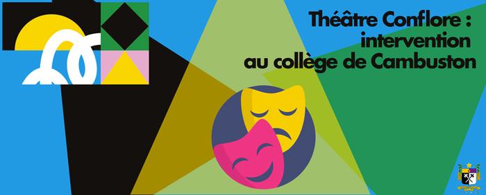 Journées du patrimoine 2019 - Théâtre Conflore : intervention au collège de Cambuston