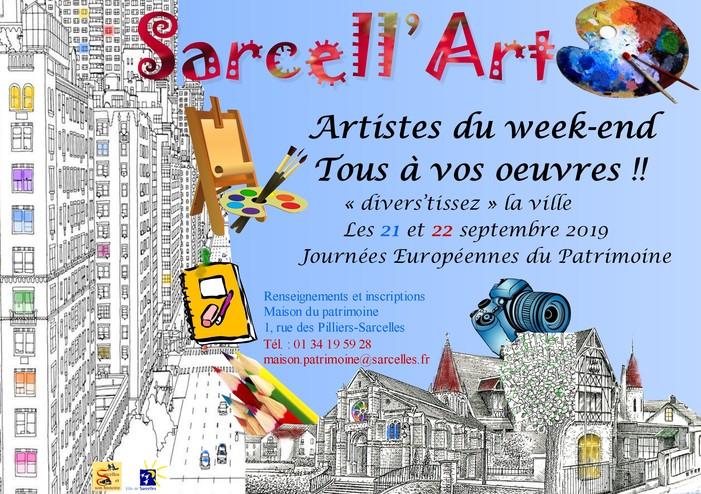 Journées du patrimoine 2019 - Sarcell'Art