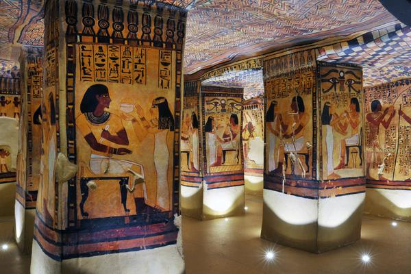 Nuit des musées 2019 -La Galerie Egyptienne du Musée de Tessé racontée lors de la Nuit des Musées