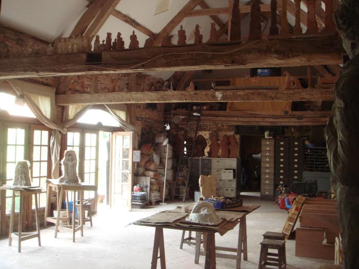 Journées du patrimoine 2019 - Visite de l'atelier de Jean-Marc de Pas, sculpteur paysagiste