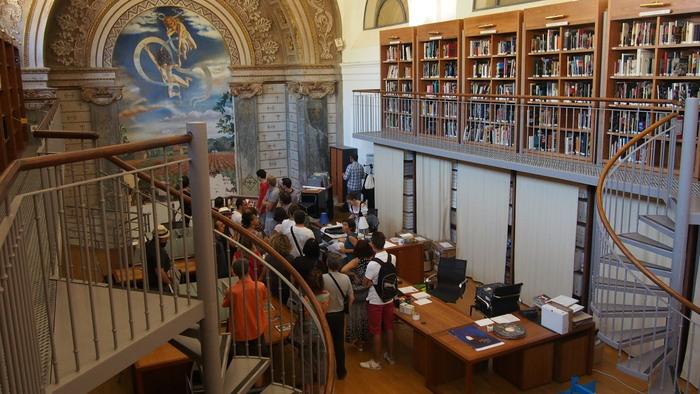 Journées du patrimoine 2019 - Visite guidée de la bibliothèque