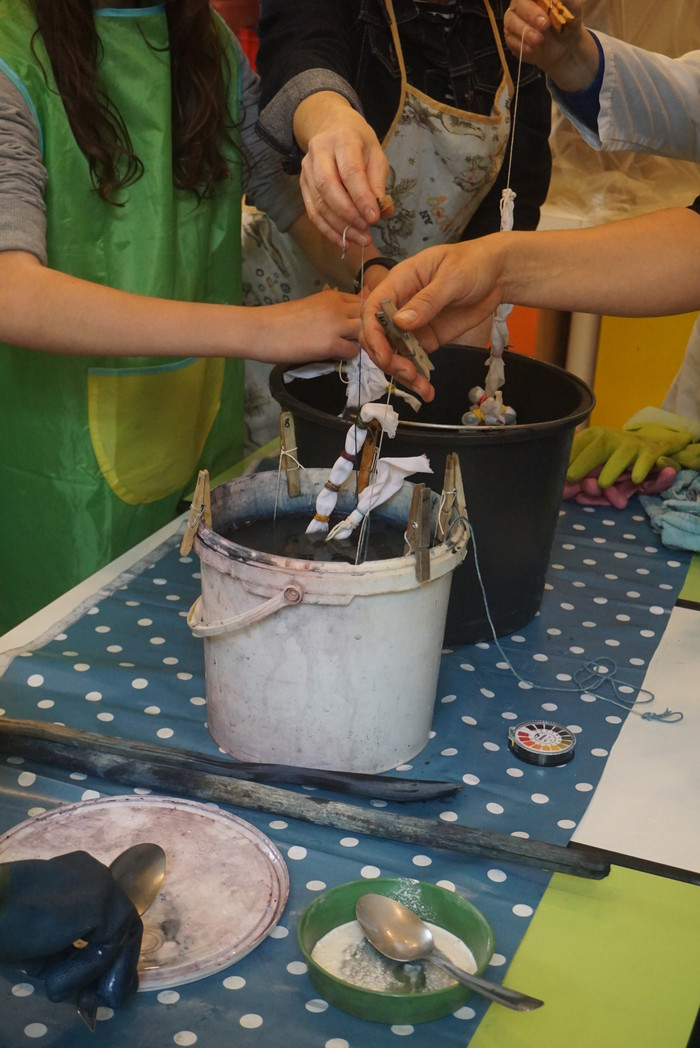 Journées du patrimoine 2019 - L'atelier de teinture à l'indigo