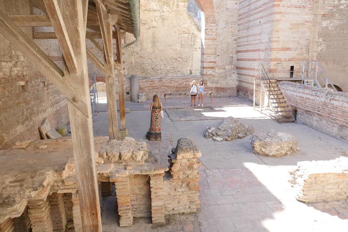 Journées du patrimoine 2019 - La relève du patrimoine - Visite guidée des thermes de Constantin