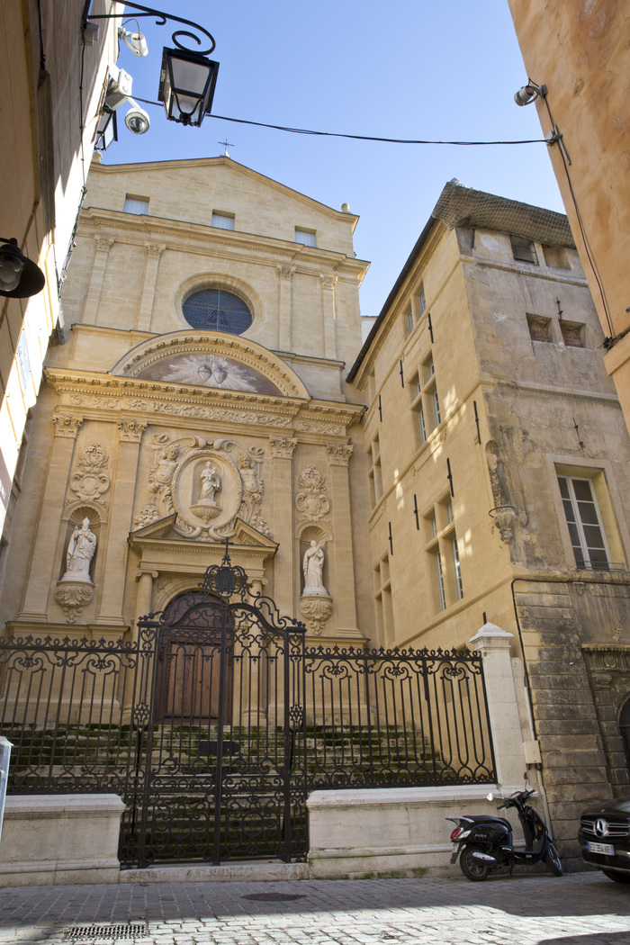 Journées du patrimoine 2020 - Annulé | Visite guidée de Sainte Catherine de Sienne à Aix