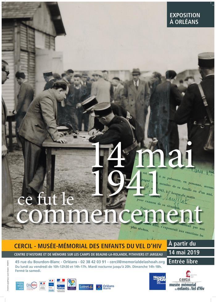 Journées du patrimoine 2019 - Visite commentée de l'exposition « 14 mai 1941, ce fut le commencement »