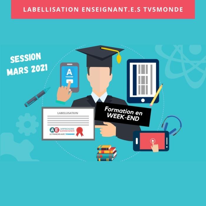 """Formation en ligne certifiante pour découvrir le dispositif pédagogique """"Apprendre et Enseigner avec TV5MONDE"""" pour enseigner le FLE"""