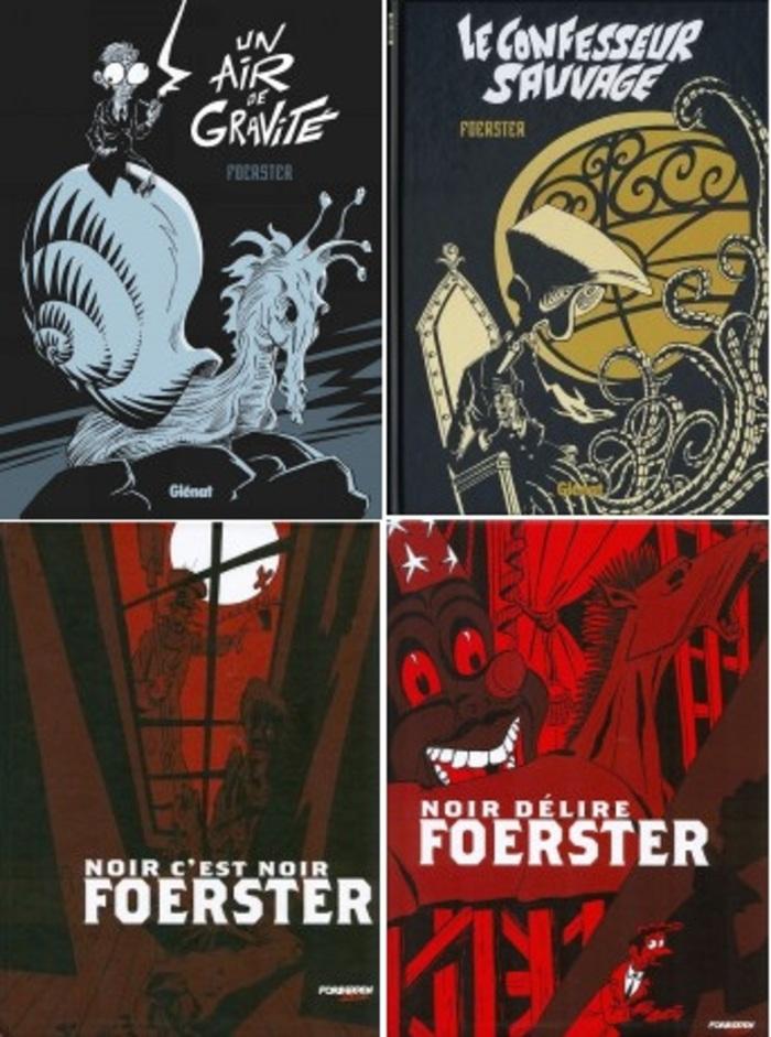 Foerster vient à l'occasion de la sortie de son nouvel album : Un air de gravité.