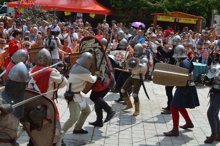 Journées du patrimoine 2019 - Démonstration de combats médiévaux