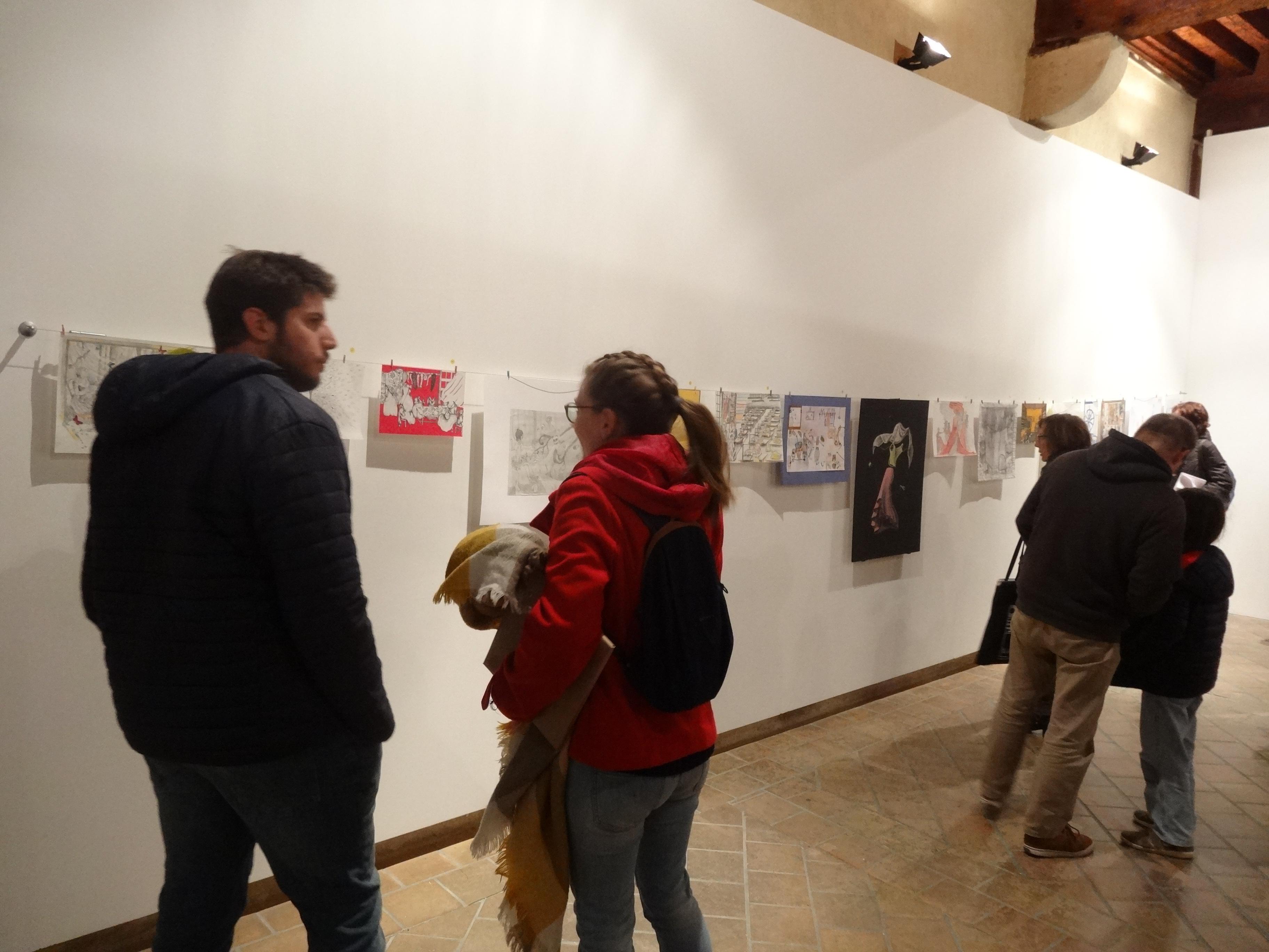 Présentation de créations réalisées à l'occasion d'ateliers au musée Réattu.