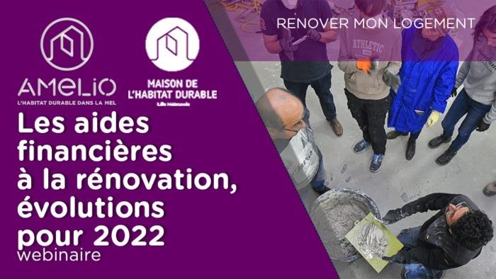 Les aides financières à la rénovation thermique, évolutions pour 2022