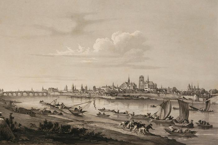 Partez à la découverte du patrimoine de la Loire et des points de vue sur Orléans dessinés par les artistes au fil des siècles.