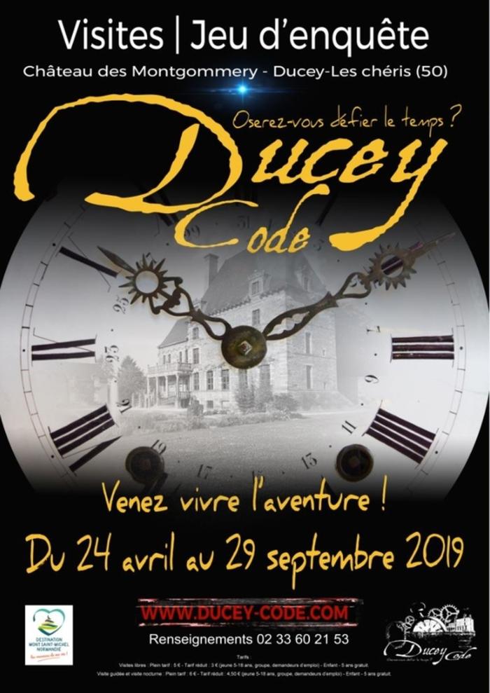 Journées du patrimoine 2019 - Jeu d'enquête policière grandeur nature . Ducey Code