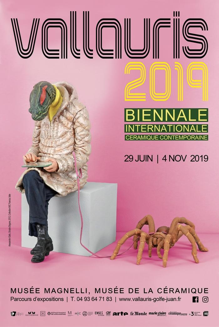 Journées du patrimoine 2019 - Visite guidée de différentes expositions du parcours «Vallauris 2019, Biennale internationale de céramique contemporaine»