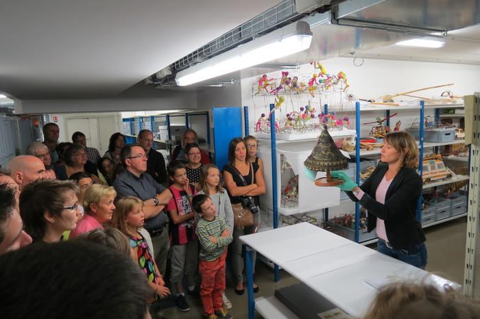 Journées du patrimoine 2020 - Découvrez les réserves du musée du Jouet