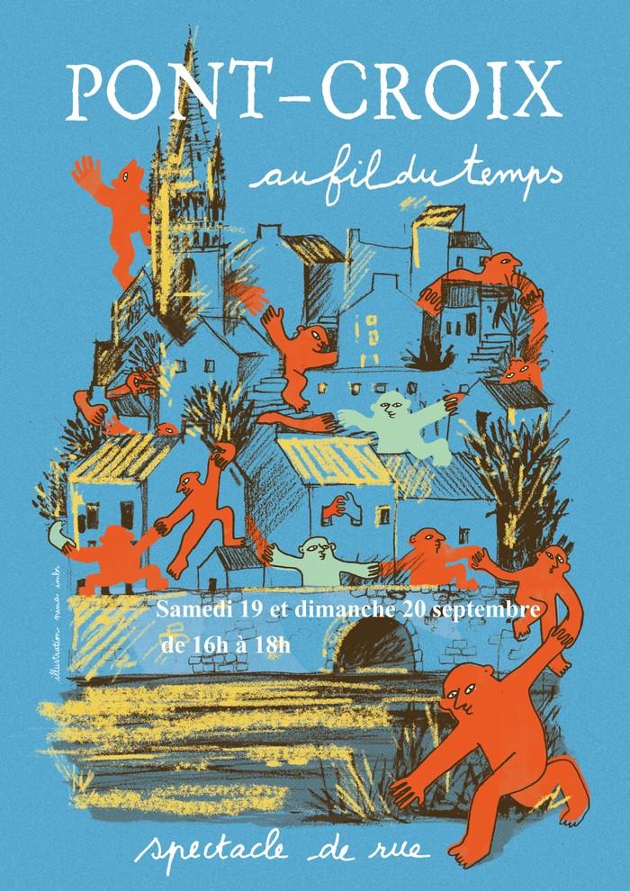 Journées du patrimoine 2020 - Pont-Croix au fil du temps, spectacle de rue