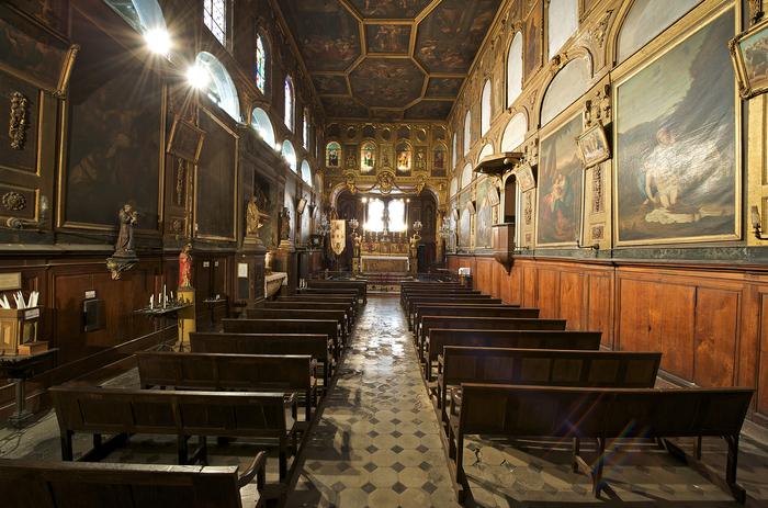 Journées du patrimoine 2020 - Visite guidée de la chapelle et des restaurations à venir