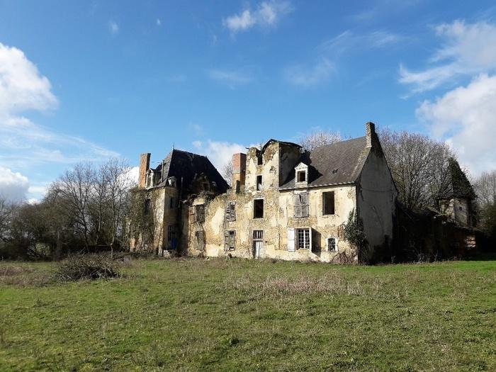 Journées du patrimoine 2020 - Découverte du Château de la Villaudray : le réveil après 40 ans d'oubli