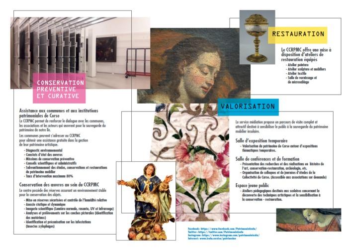 Journées du patrimoine 2019 - Portes ouvertes du Centre régional de Conservation Restauration du patrimoine