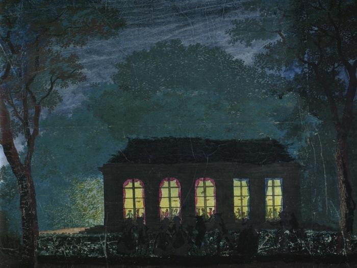Journées du patrimoine 2019 - Les riches heures du pavillon de l'Ermitage :  visite commentée sur les loisirs et le divertissement au XVIIIe siècle