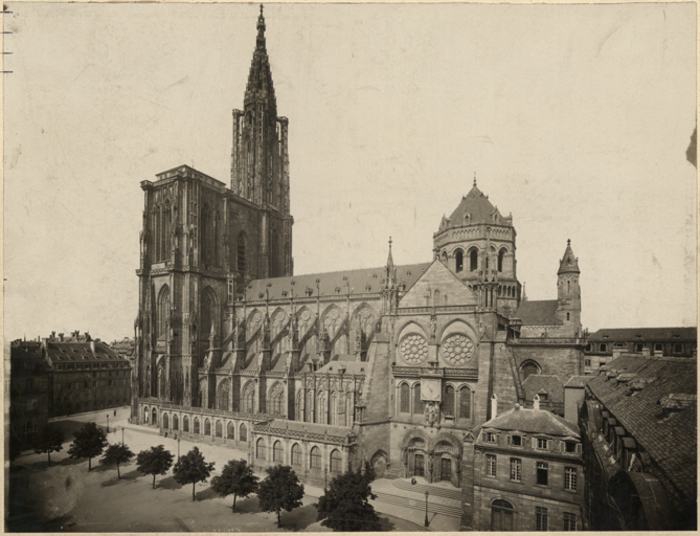 Journées du patrimoine 2019 - Visite scolaire de la cathédrale de Strasbourg