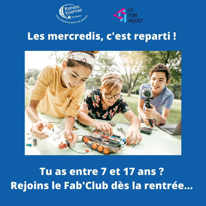Rejoins le FabClub dès le 8 septembre !