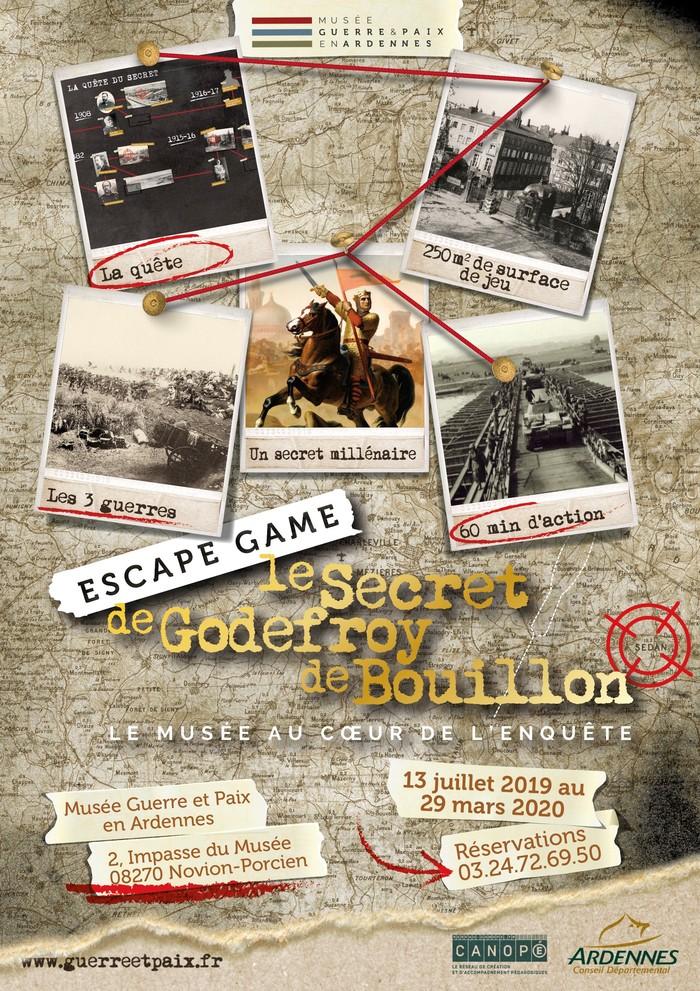 Journées du patrimoine 2019 - Escape game