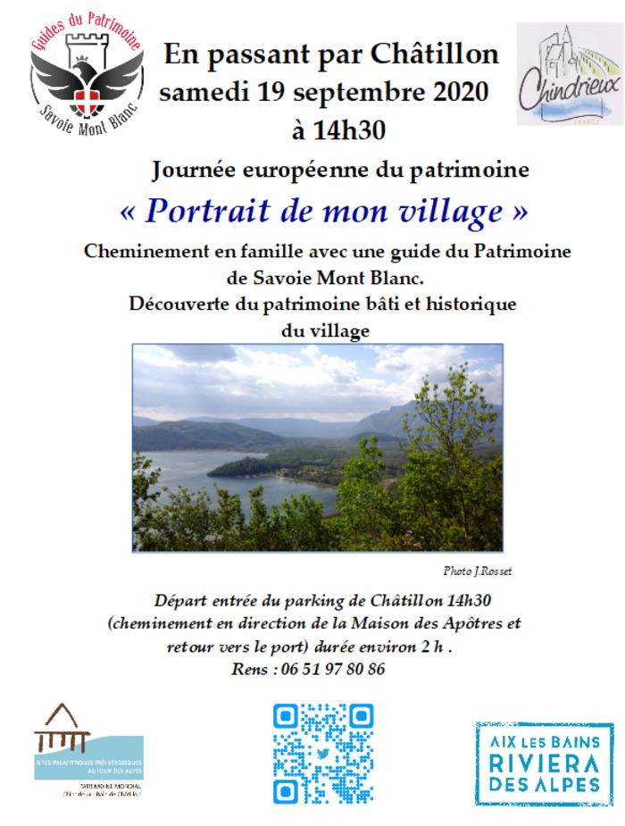 Journées du patrimoine 2020 - En passant par Châtillon