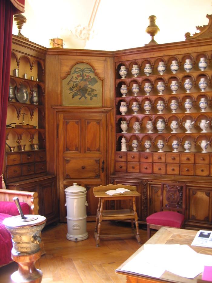 Journées du patrimoine 2019 - Apothicairerie de Poligny