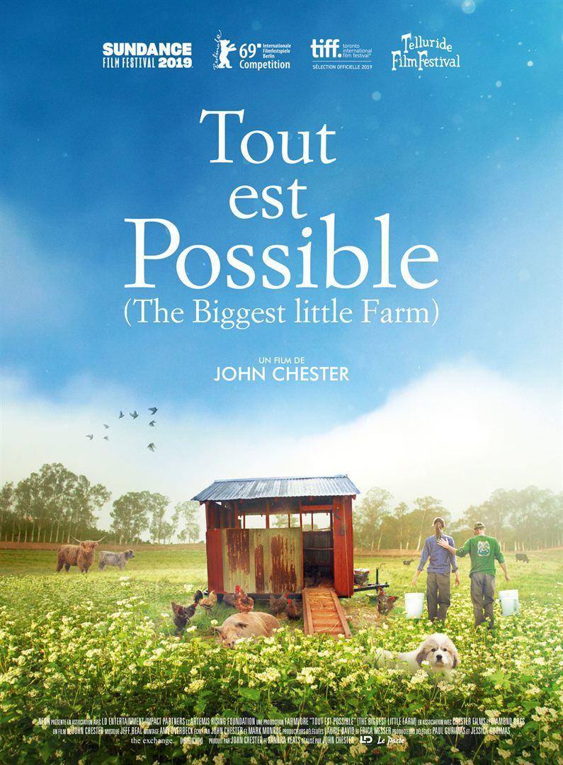 Projection du film de John Chester précédée d'une rencontre avec Julien Dossier et Sophie Berton.