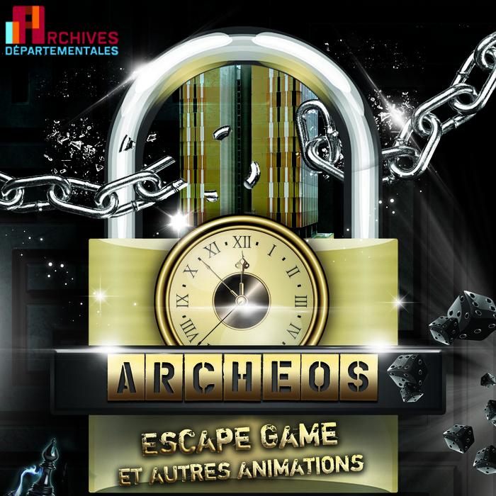 Journées du patrimoine 2020 - Escape game Archéos aux archives du Val-de-Marne (A)