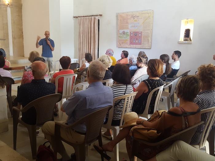 Journées du patrimoine 2019 - Visite commentée de l'église et chants grégoriens