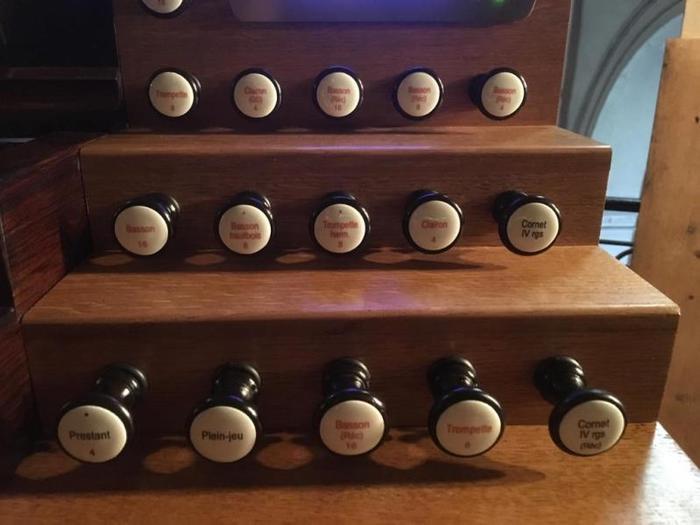 Journées du patrimoine 2019 - Visite de l'orgue Abbey restauré et agrandi, tribune ouverte à ceux qui souhaitent le jouer ou s'essayer à l'orgue pour la 1ère fois.