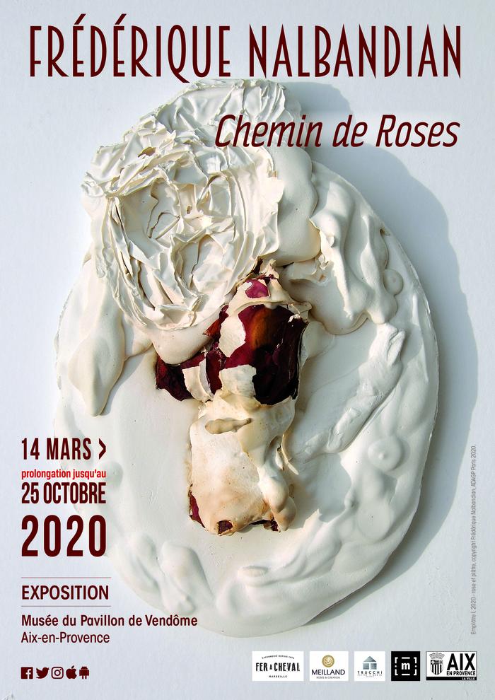 Journées du patrimoine 2020 - Annulé | Exposition Frédérique Nalbandian, Chemin de Roses