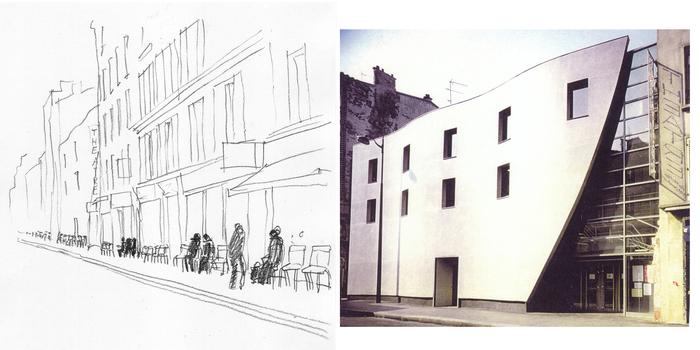 Journées du patrimoine 2020 - L'Artistic, Les Chaises ! et les habitants de la rue Richard Lenoir...