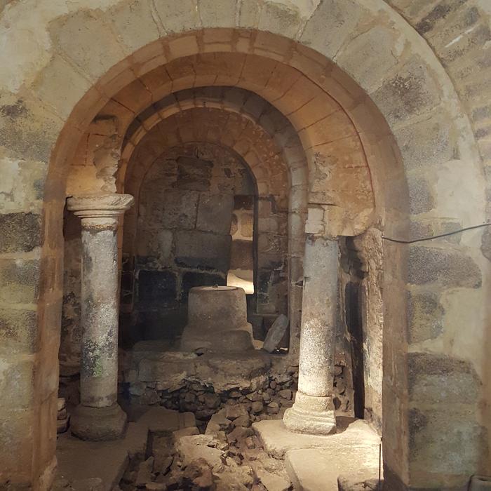 Journées du patrimoine 2019 - Visite de la crypte de l'église Notre-Dame